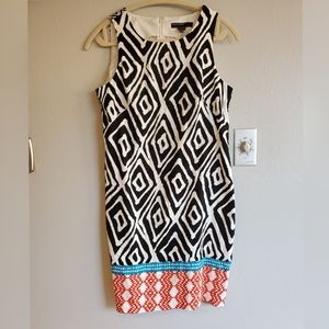 Maggy London Tribal print dress